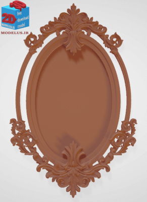 مدل قاب آینه تاجدار