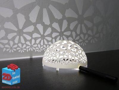 مدل سه بعدی نورپردازی