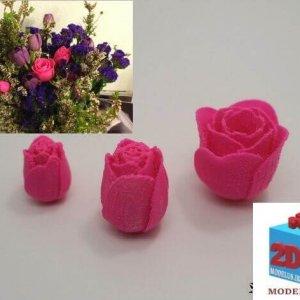 مدل مجموعه غنچه گل پرینتر سه بعدی