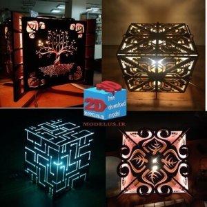 مجموعه مدل چراغ خواب تزئینی