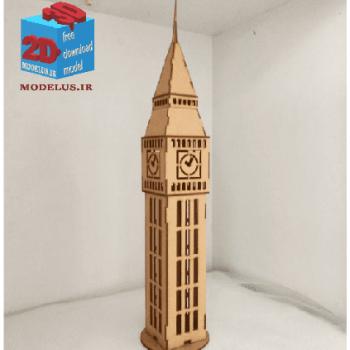 دانلود مدل ساعت لندن