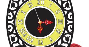 downoad top model clock cdr dxf