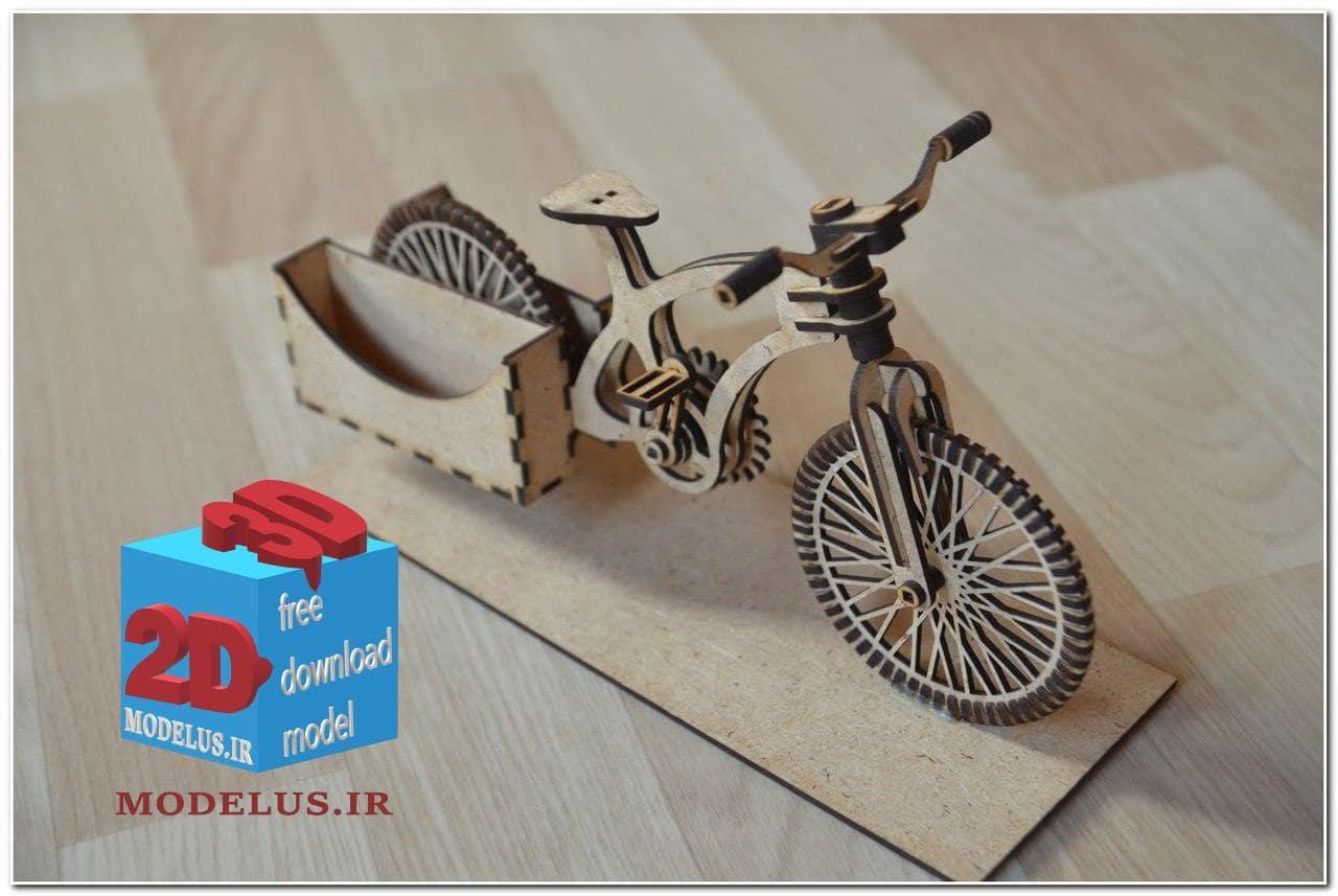 دانلود فایل لیزر برش جاکارتی طرح دوچرخه
