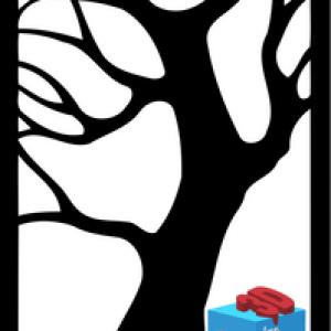 دانلود رایگان مدل تابلو دکوراتیو درخت