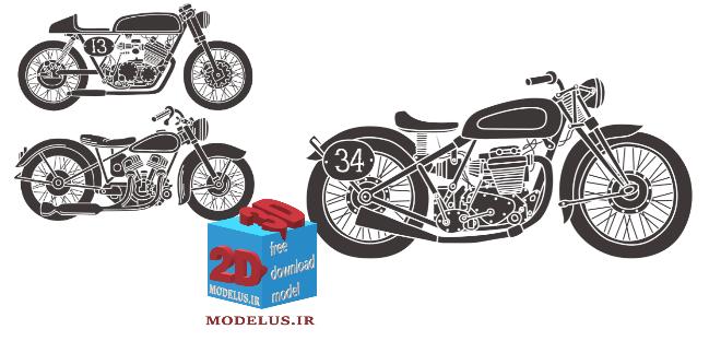 دانلود رایگان وکتور موتور سیکلت 010