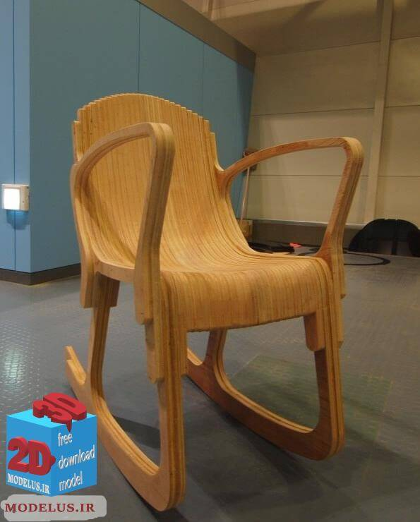 دانلود طرح مخصوص سی ان سی صندلی مدرن